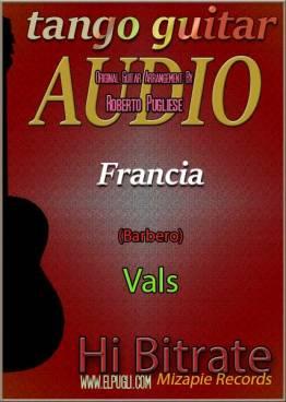 Francia mp3 vals en guitarra por Roberto Pugliese