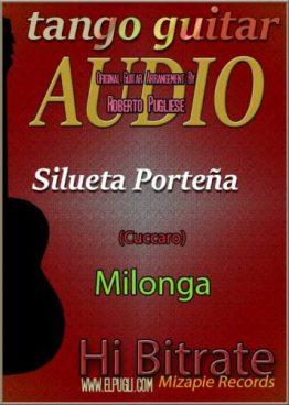 Silueta porteña Mp3 guitarra Roberto Pugliese