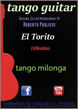 El torito Tango partitura de guitarra por Roberto Pugliese