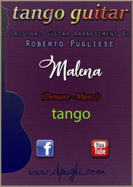 Malena tango partitura para guitarra
