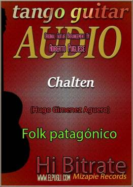Chalten mp3 guitarra instrumental con video y partitura