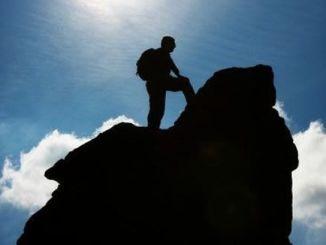montaña, oración, perseverar