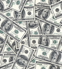 dinero, parabola