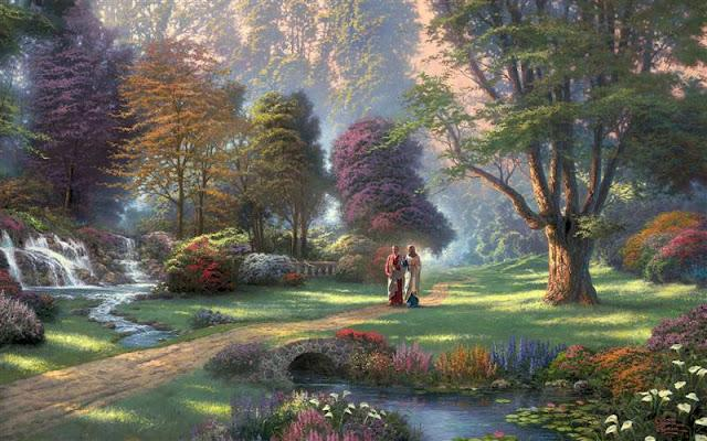 Paraíso, lugar intermedio