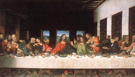 Gran Cena, ultima, jesus, apostoles