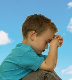 oracion, niño orando, Dios, tierno