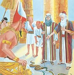 aaron, faraon, moises, biografia