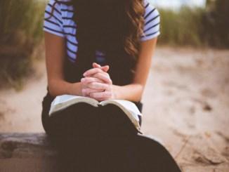 actitud correcta al orar, orar, oracion