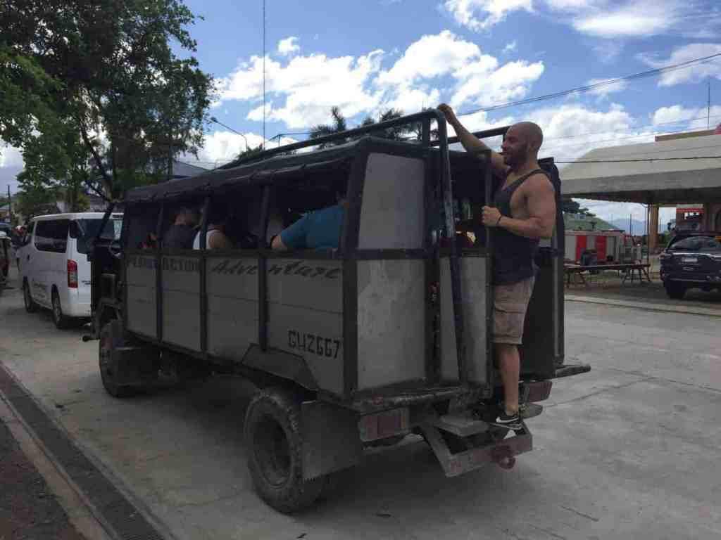 Moalboal to Dumaguete