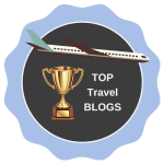 Top Travel Blogs badge