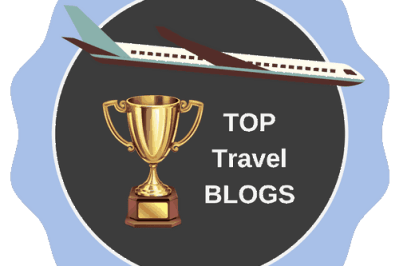 Top Travel Blogs badge
