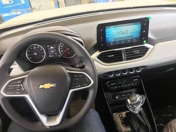 صورة السيارة منصور شيفروليه كابتيفا من الداخل