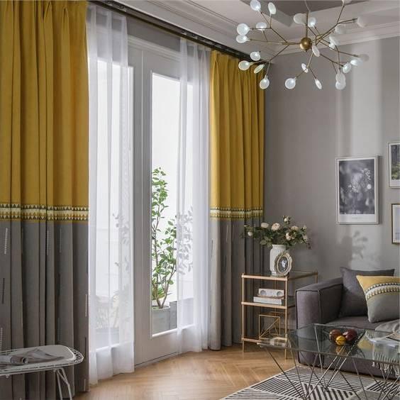 اختر الستائر طريقة تركيب الستائر واختيار أفضل ألوان وخامات ستائر تتوافق مع الكنب والسجاد بالصور