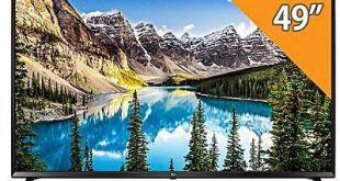 الشاشات شاشة تلفزيون سعر ومواصفات LG 49UJ630V - تلفزيون سمارت 49 بوصة 4K Ultra HD LED ...