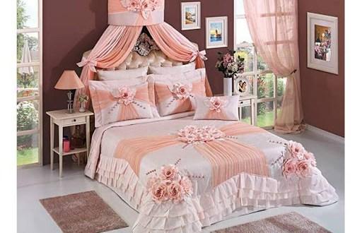 أحدث المفارش التركية والعالمية المفارش مفرش سرير نوم