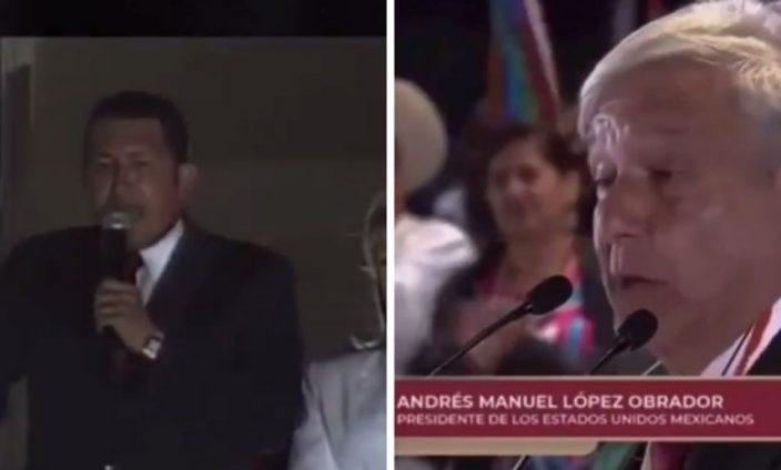 amlo chavez 780x470 - Coincidencias discursivas entre AMLO y Hugo Chávez no pasan desapercibidas en redes sociales – El Queretano #AMLO