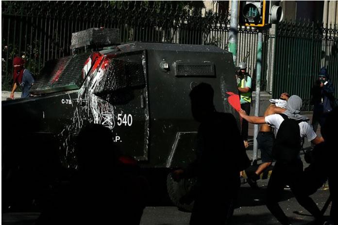 34 detenidos por desórdenes robos y saqueos
