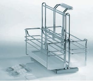Roll-Out Storage - Portero - Two Baskets 1