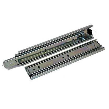 Full Extension Drawer Slide 250mm to 700mm. Side Mount Zinc. 45Kg load rated 5