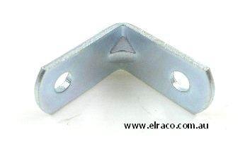 Angle Bracket - 30x30x12(W)X1.6mm - Zinc Plated Steel 1