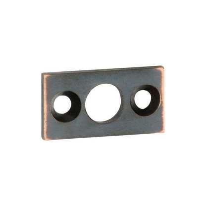 1384 - Plate Keeper - Antique Copper - 7.5mm Bolt 1