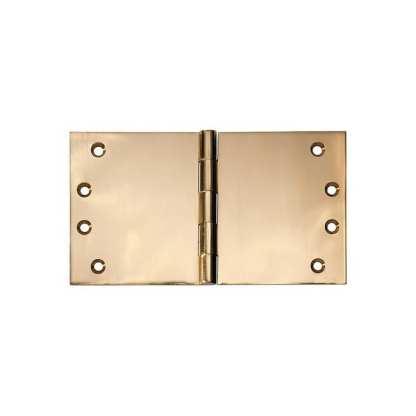 2492 Hinge - Broad Butt Hinge - Polished Brass - 100x175x4mm 1