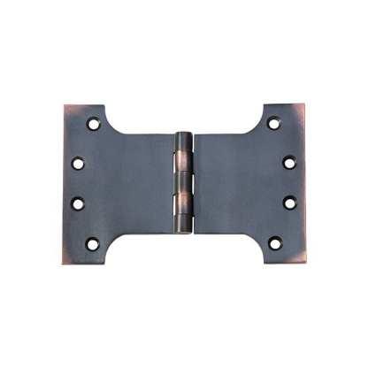 2582 Hinge - Parliament Hinge - Antique Copper - 100x150x4mm 1