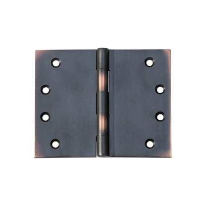 2590 Hinge - Broad Butt Hinge - Antique Copper - 100x125x4mm 1