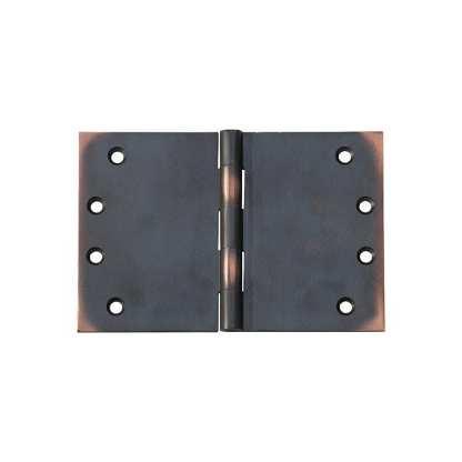 2591 Hinge - Broad Butt Hinge - Antique Copper - 100x150x4mm 1