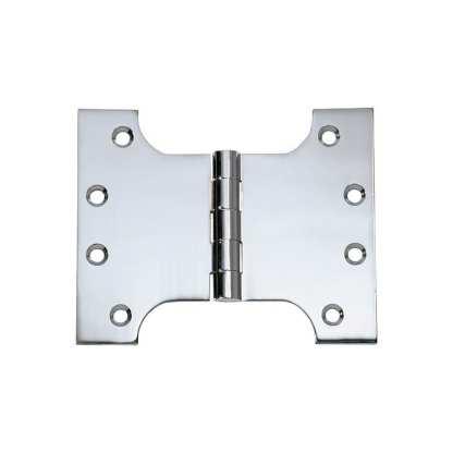 2681 Hinge - Parliament Hinge - Chrome Plate - 100x125x4mm 1