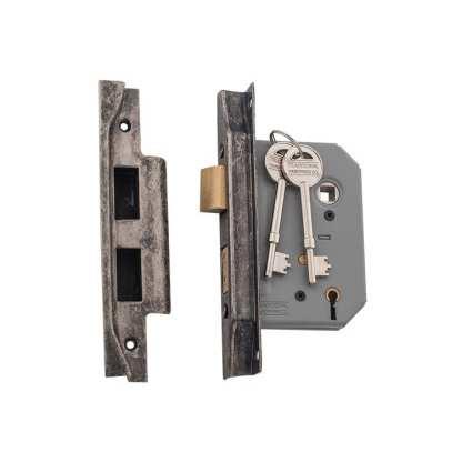 6157 - Rebated 5 Lever Lock RN 57mm 1