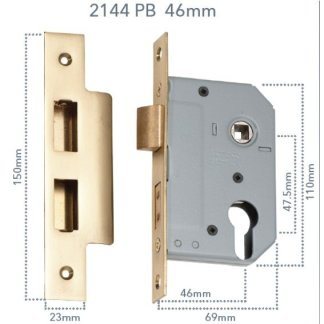 Euro Mortice Locks with 47.5mm centres 10