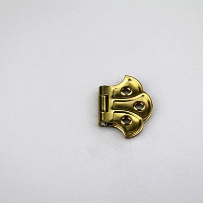 Flush Hinge. 50x35mm. Brass Plated 4