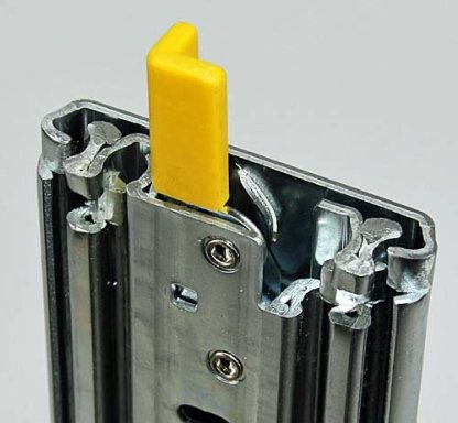 Heavy Duty Locking Slides. Lengths from 407mm to 1524mm. 227kg Rated 1