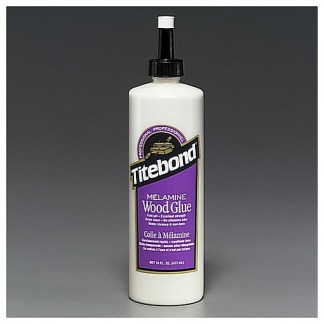 Titebond Melamine Glue 473ml - Cabinet Shop Assembly - Dries Clear