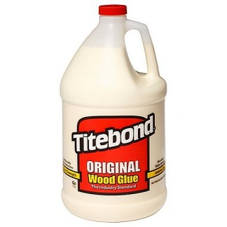 Titebond Original 3.785lt - Aliphatic PVA Wood Glue - Cream colour - Dries cream