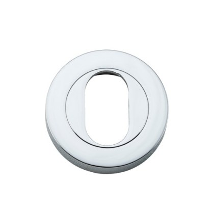 Tradco 20064 - Escutcheon Oval Chrome Plated. Sold as a pair 1