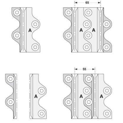 Nylon Floor Guide Pad Eltrak ECFGP 3
