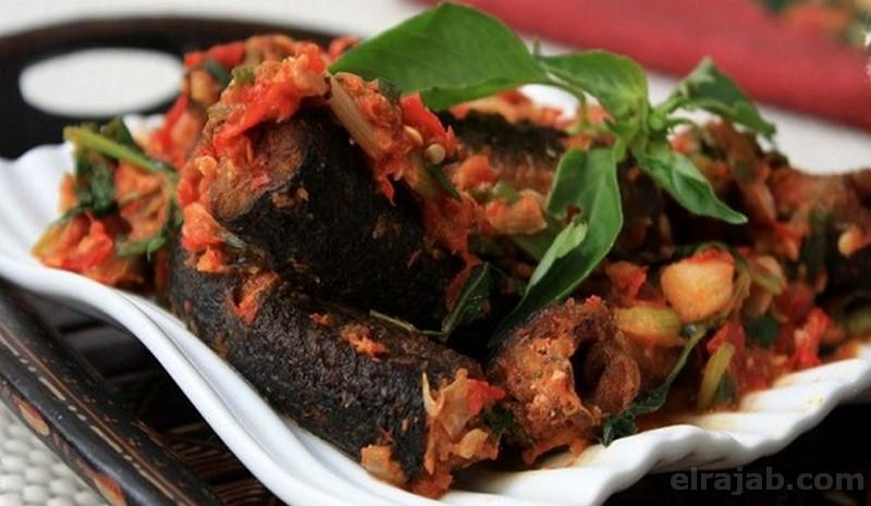 makanan khas tuban belut pedas