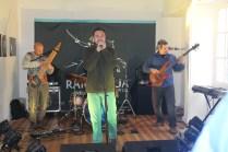 """El rock progresivo llegó de la mano de la banda """"El Átomo""""."""