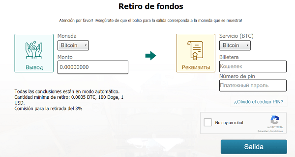 cobrar en mining cloud