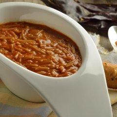Receta de sopa de fideos al ajillo