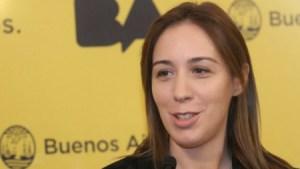 María Eugenia Vidal, gobernadora de Buenos Aires