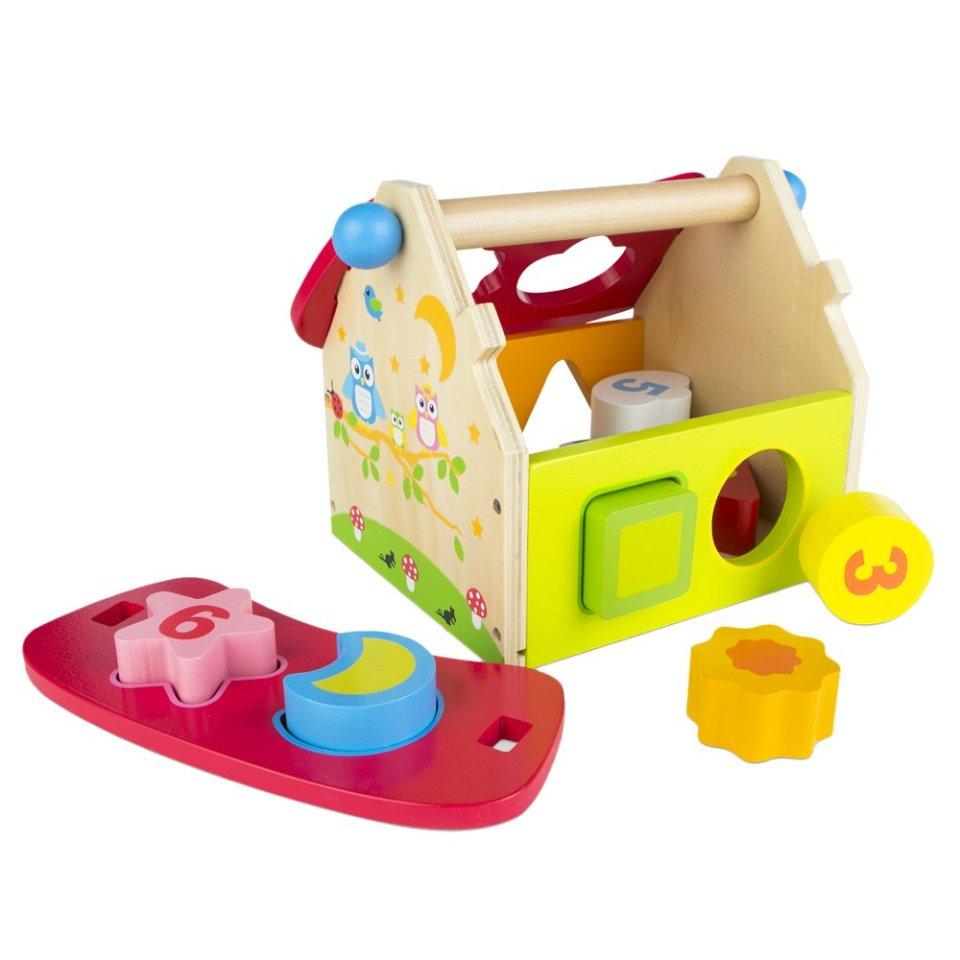 Casa juguete encajable