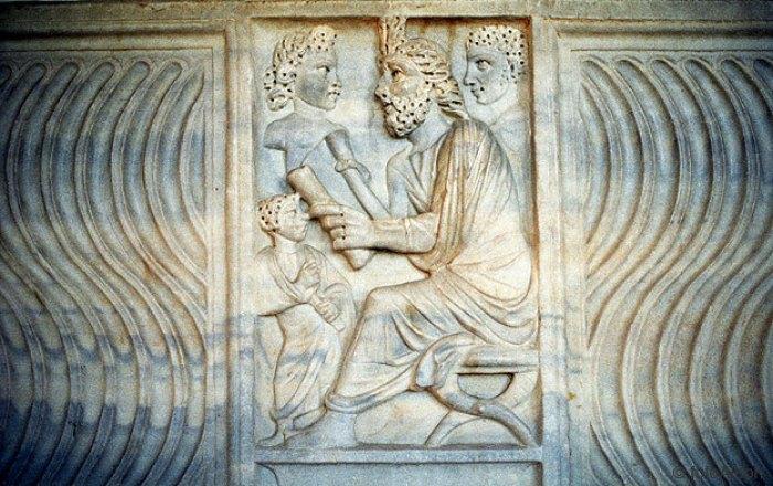 sarcofago paleocristiano
