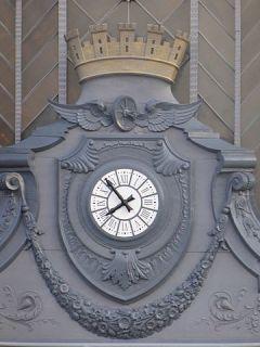 Reloj de Atocha, año 1851