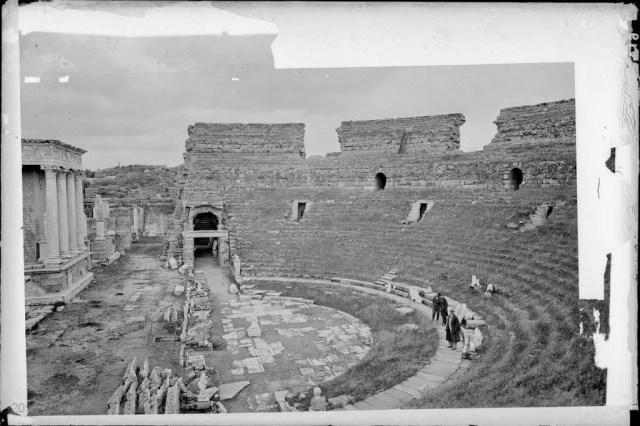 Teatro de Merida a principios del siglo XX