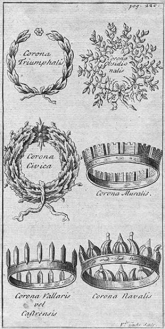 Coronas emeritas romanas
