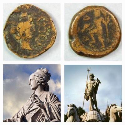 ¿Tanit y Merlkart fenicios se sincretizan en  Cibeles/Tyche  y Neptuno Romanos?