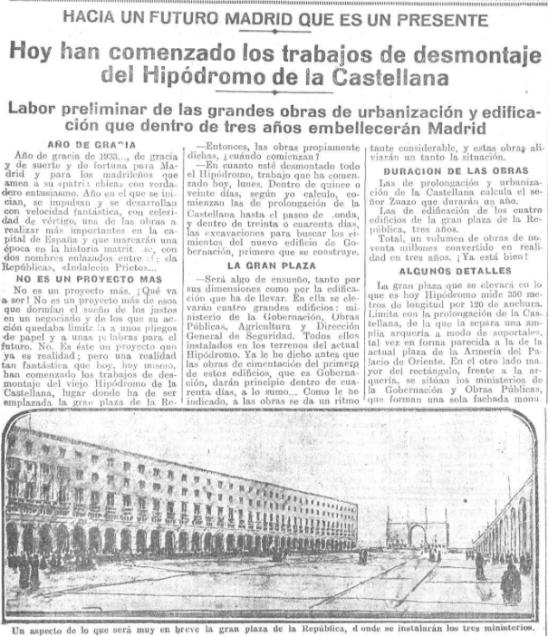El Heraldo de Madrid. 2-1-1933
